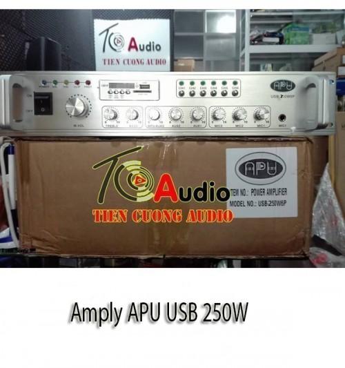 Amply APU USB 250W Phân 6 Vùng - Nhập Khẩu Chính Hãng