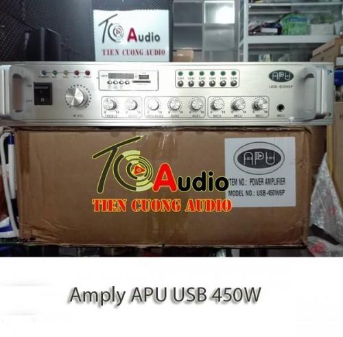 Amply APU USB 450W Phân 6 Vùng Công Nghệ Đức