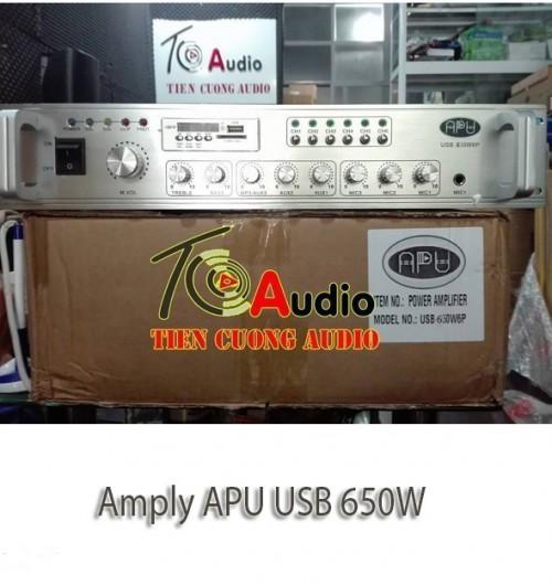 Amply APU USB 650W Phân 6 Vùng Công Suất Lớn