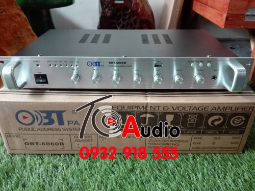 Amply OBT 6060B Công Suất 60w - Có ( C0-CQ)